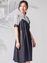 BG 2019 Women Summer Dress Korean Sexy Pleated  Fake 2 piece set Dresses Chiffon Vestidos J90421232