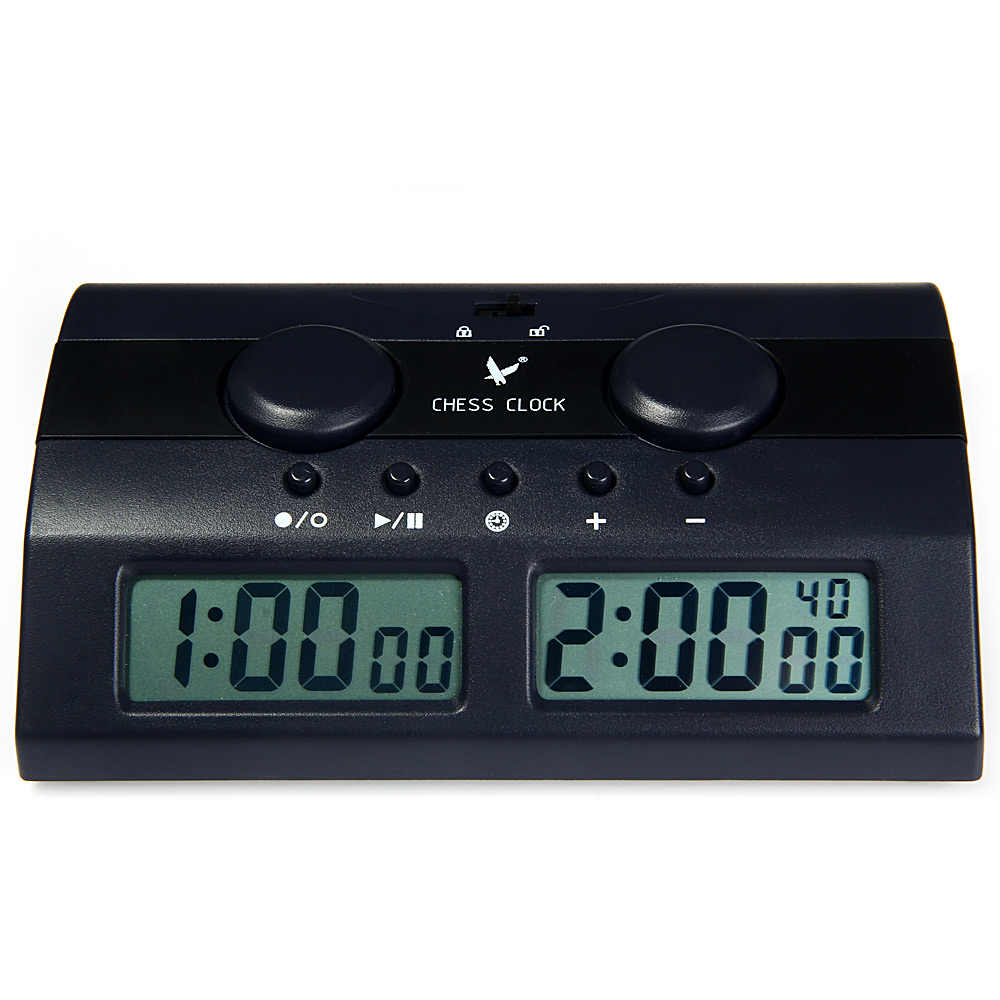 Leap Pq9902c Multifuctional Digital Chess Clock Count Up Down Chess Alarm Timer Reloj Ajedrez Temporizador Game Competition Specialty Clocks Aliexpress