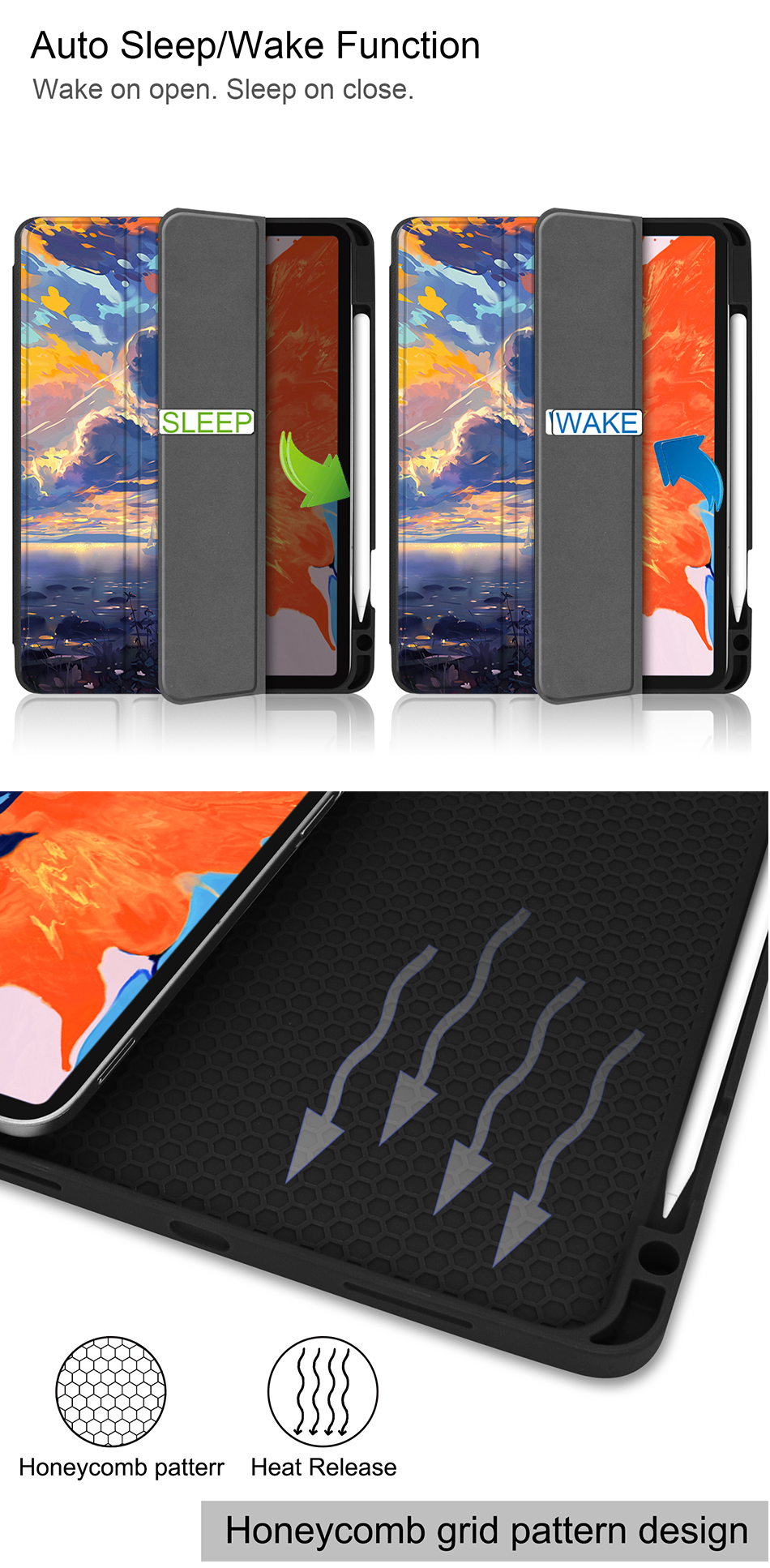 Leather 2020 Pro Back+PU Tablet A2233 For MTT inch New TPU A2229 Soft 12.9 iPad Case