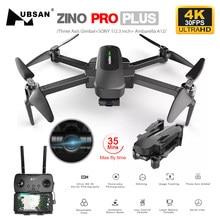 Drone Hubsan Zino PRO Plus Zino 2 + GPS con 4K 30FPS /60FPS UHD WiFi FPV Camera Quadcopter 3 assi Gimbal 8KM Dron Vs SG906 MAX