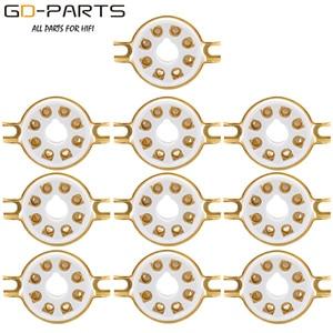 Image 3 - 10 PIÈCES De Montage Sur Châssis 8 Broches K8A Octal En Céramique Tube Prises pour KT88 KT66 6SN7 5AR4 GZ34 5881 6V6 5U4G 6550 6J7 6SJ7