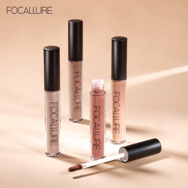FOCALURE Matte Lipgloss Pigment Liquid Nude Velvet Lip Tint Non-sticky Waterproof Matt Lip Gloss Lip Makeup
