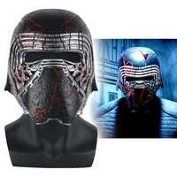 Neue Kylo Ren Helm Cosplay Star Wars 9 Die Aufstieg von Skywalker Maske Requisiten PVC Star Wars Helme Masken Halloween party Prop