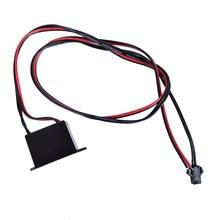 1 pces brilho cabo tira luz inversor adaptador 12v neon el fio controlador de driver de energia