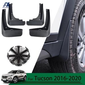 AX For Hyundai Tucson TL 2015 - 2020 Car Mudflaps Mud Flaps Splash Guards Mudguards Mud Flap Front Rear 2016 2017 2018