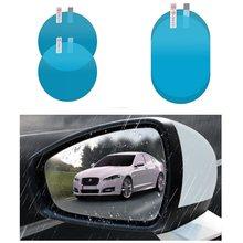 Autocollant Anti-brouillard pour voiture, 2 pièces, Film Anti-pluie pour vitres de voiture, rétroviseur extérieur, accessoires de voiture