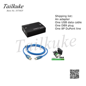 Image 3 - ניתוח של מנות לכידת פרוטוקול עבור USB כדי הכפול ערוץ יכול לין K אוטובוס Analyzer מתאם נתונים ניטור