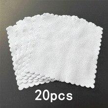 20 шт Чистящие Салфетки нано керамическое стекло покрытие микрофибра полировальные принадлежности