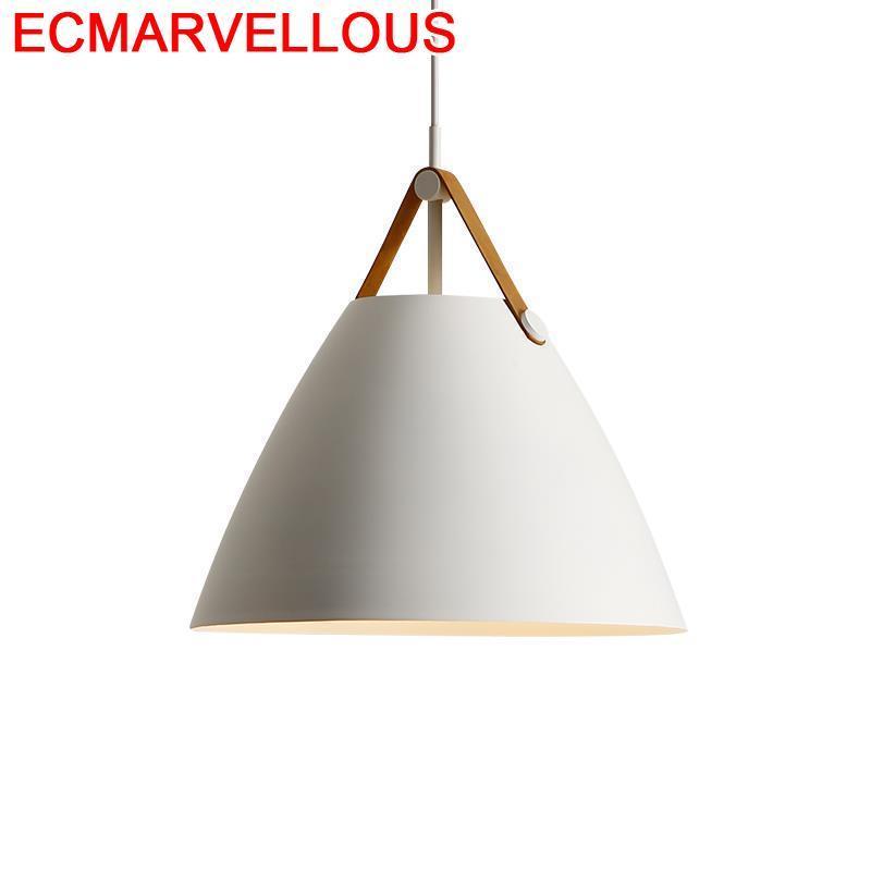 De Techo Colgante Nordic Design Chambre Fille Industrial Decor Lampen Modern Luminaire Suspendu Deco Maison Loft Pendant Light