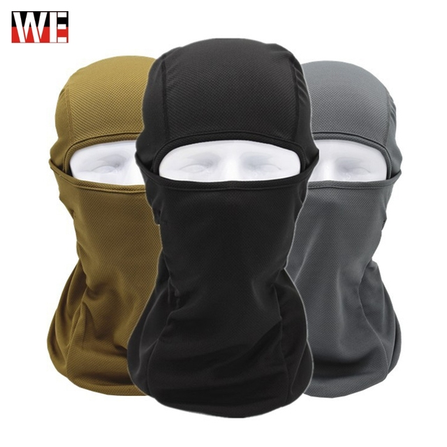 WOSAWE integrated motocross Balaclava face mask quick dry bike bicycle hat sport caps full cover face mask motorcycle headwear