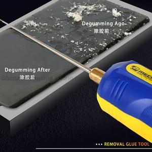 Image 2 - מכונאי IR10 פרו OCA טלפון LCD מסך Degumming שובל דבק כלי סט מתכוונן מהירות דבק להסיר עט מטחנת גומי מפריד
