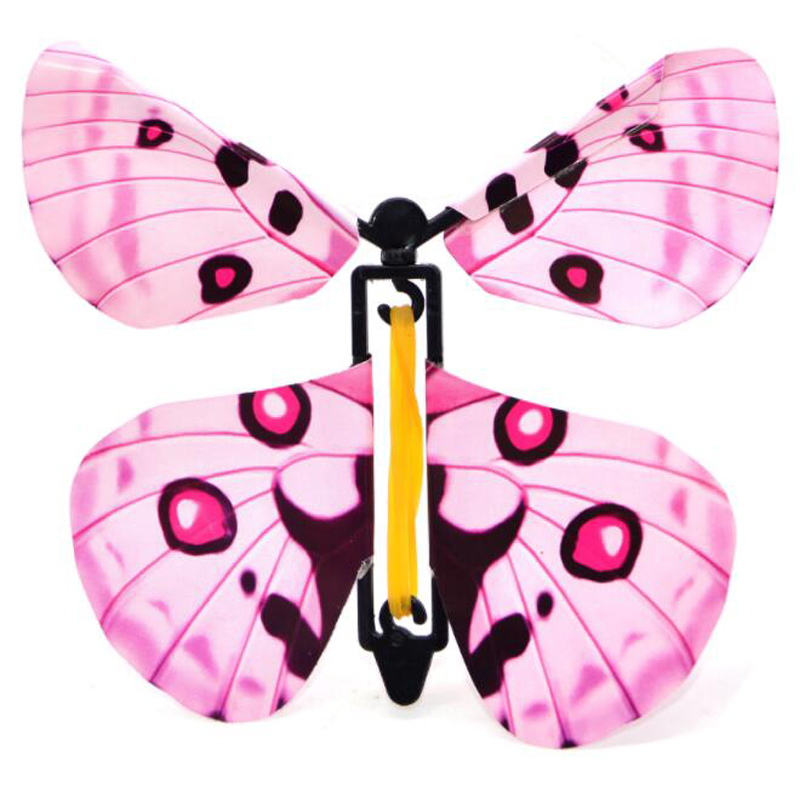 IWish 11x11cm Magic Flying Toys Transformation Fly Butterfly Props Tricks Change Hand Funny Prank Joke Mystical Fun Kids Classic