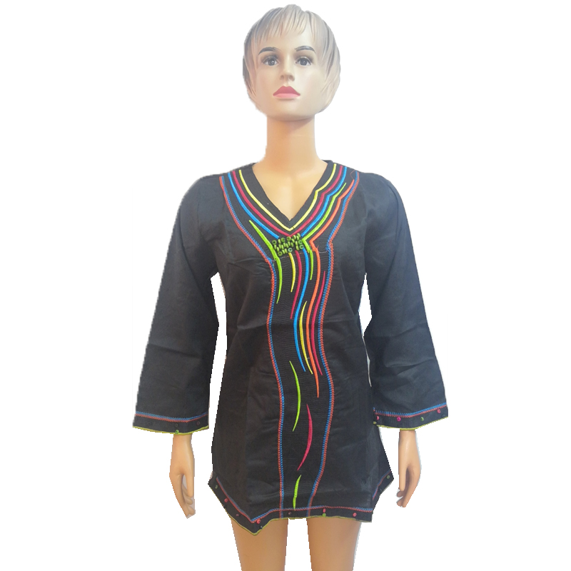 MD 2019 African Linen Dresses For Women African Tops Traditional Private South Africa Style Clothing Bazin Riche Dashiki Shirts