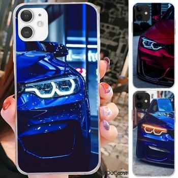 Kenzoe Blue Red Car for Bmw Phone Case For iPhone 11 12 pro XS MAX 8 7 6 6S Plus X 5S SE 2020 XR cover image