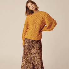 KIYUMI Sweater Women Thick wool hand-knit Hairball Urgan Gypsy Tops 2019 Autumn Winter Long Sleeve Yellow Casual