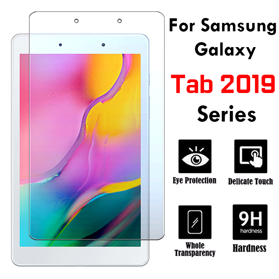 Galaxy Tab A 10.1 Tempered Glass A10.1 Inch On For Samsung Tablet S5e Screen Protector Protective A8.0 10 1 10.5 8.0 8 T510 2019