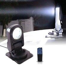 Foldable remote control spotlight marine searchlight 45w led