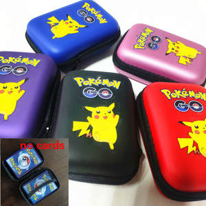 Cards-Holder Case Album-Pokemon-Box Pikachu Game-Cards Francaise Gx for 50pcs