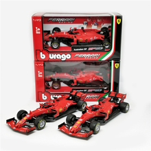 BBurago 1:43 F1 2019 SF90 #5 Sebastian Vettel  #16 Charles Leclerc Normal Version Formula one Racing Diecast Car