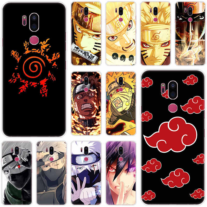 Anime Naruto Custodia In Silicone Per lg G5 G6 Mini G7 G8 G8S V20 V30 V40 V50 ThinQ Q6 Q7 Q8 q9 Q60 W10 W30 Aristo 2 X Power 2 3 Copertura