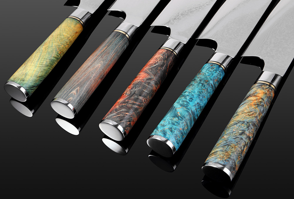 8 INCH VG10 DAMASCUS STEEL JAPANESE KNIFE