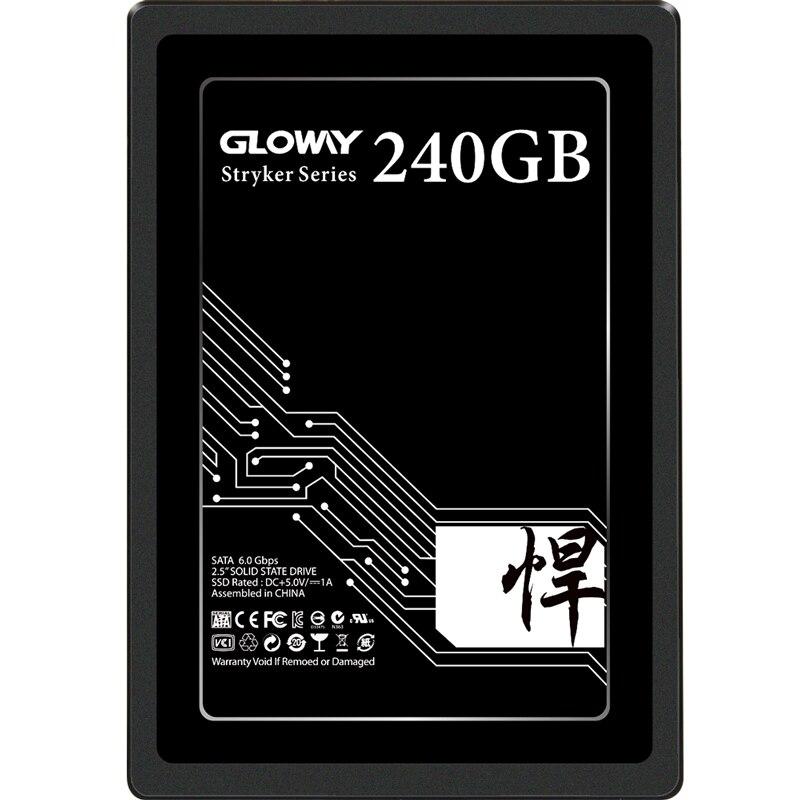 Gloway  240gb 480gb 720gb 960gb  SSD 2.5 Sata3 Solid State Drive Hard Drive Disk Hd Hdd SSD 3 Internal Style  SSD 240GB