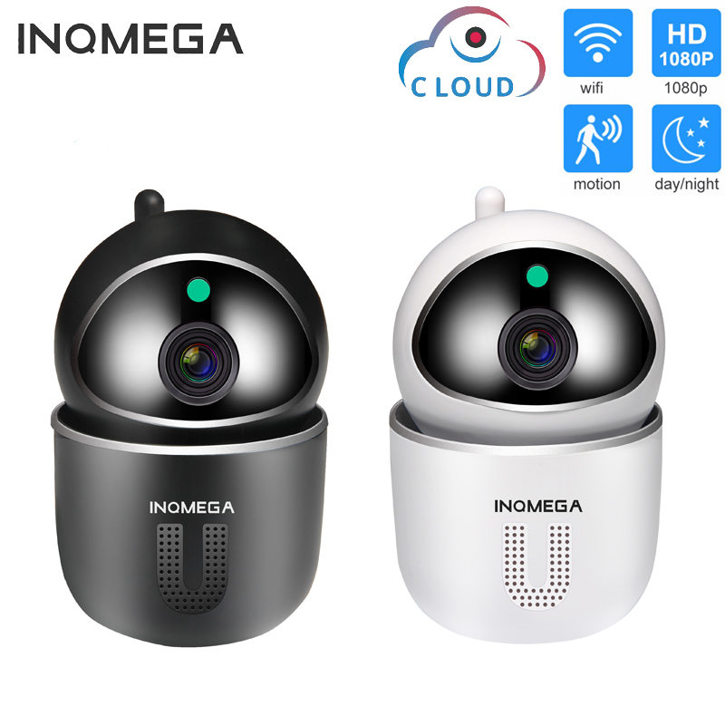 INQMEGA 1080P 720P Mini Home Security IP Camera Two Way Audio Wireless Camera Night Vision CCTV WiFi Camera Baby Monitor ICsee