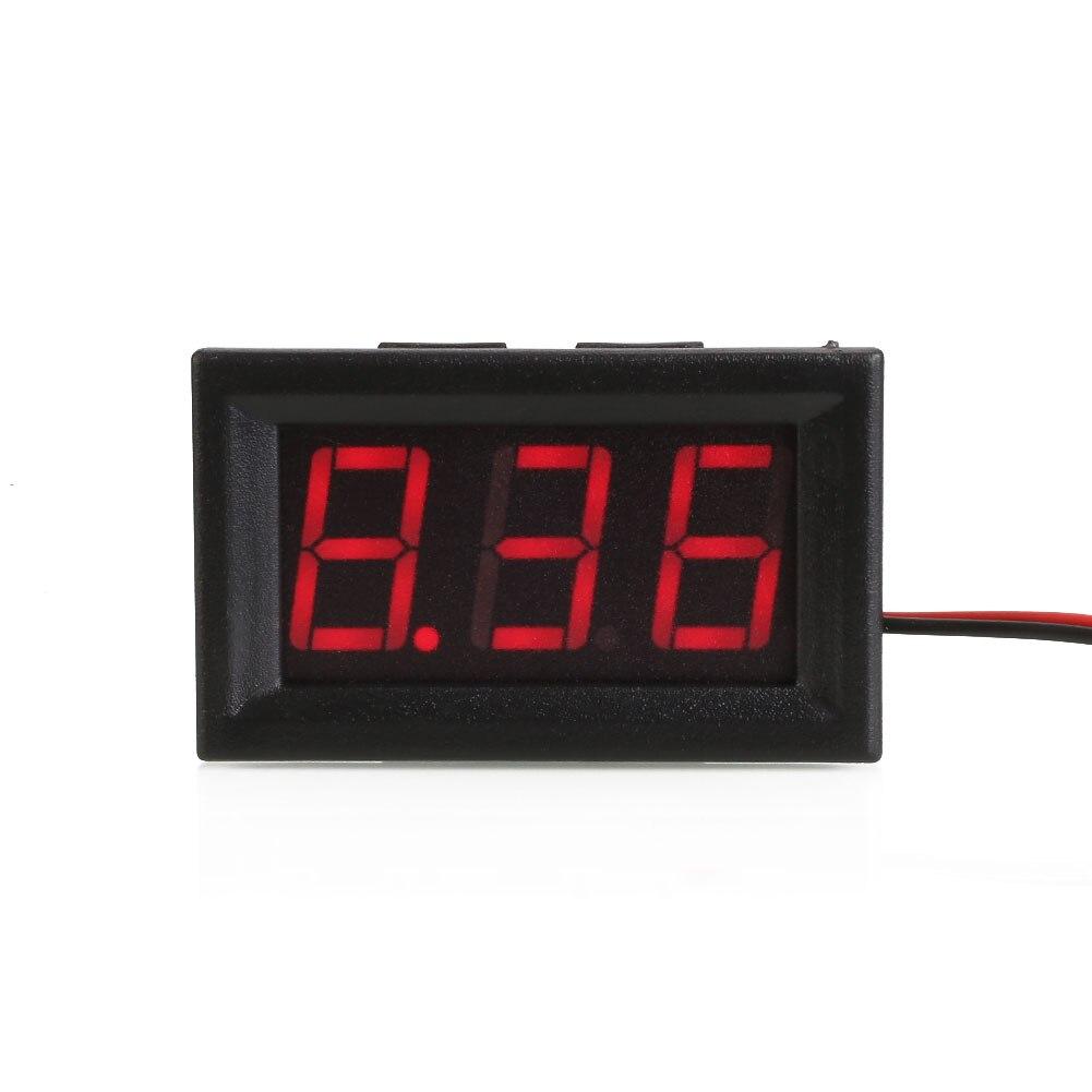 Meter Science Digital Voltmeter Voltage DC Led Accessories Volt Tool Diy