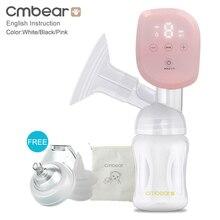 Cmbear все-в-на Интеллектуальный ЖК-дисплей USB молокоотсос для грудного вскармливания ребенка безболезненный мощный Электрический молокоотсос бутылочка