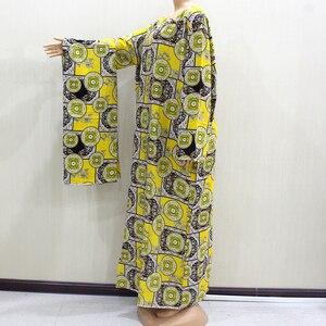 Image 5 - 2020 Fashion Design New Arrival African O Neck Long Sleeve Long Dress Women Spring Dresses Casaul Elegant Women Dress