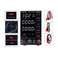 DC Lab Regulated Adjustable Power Supply 30V 10A 5A Switching Power Source Voltage Regulator Stabilizers 60V 54V 12V DIY Wanptek