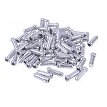 50/100PCS MTB Bike Bicycle Brake Shifter Aluminum Inner Cable Tips Crimps Cycle Cycling Parts Derailleur Shift Cables End Caps