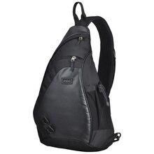 Maxi moda erkekler sırt çantası bir omuz göğüs çantası erkek postacı erkek üniversite okul çantası rahat iş seyahat 17 19 inç M5207