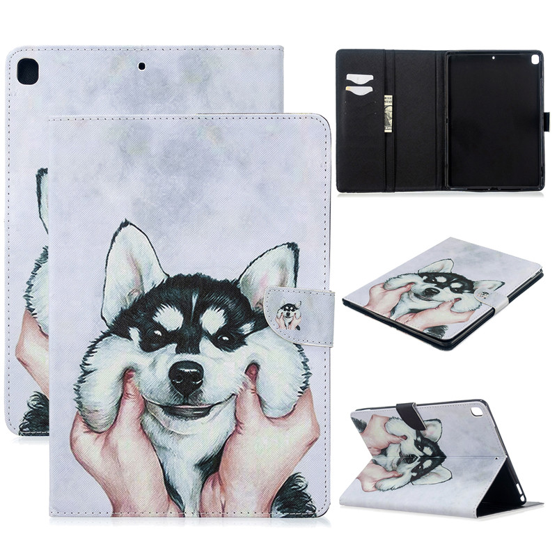 iPad For Magnetic Cover Air Case Tablet 10 5 Apple 2019 2017 for Cat Unicorn Cute 3 Pro