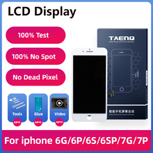 TAENO HD LCD Display For iPhone 6 6S 6SP Screen Replacement Full Assembly Complete Display With Fram