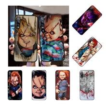 цена на NBDRUICAI CHURSE OF CHUCKY CHILDS Soft Silicone Black Phone Case for Huawei P30 P20 P10 P9 P8 Mate 20 10 Pro Lite