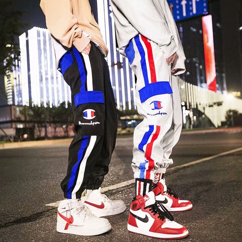 Origional Popular Brand Spring And Autumn New Style Casual Men's Trousers INS Street Loose-Fit Trend Couples Hip Hop Capri Athle
