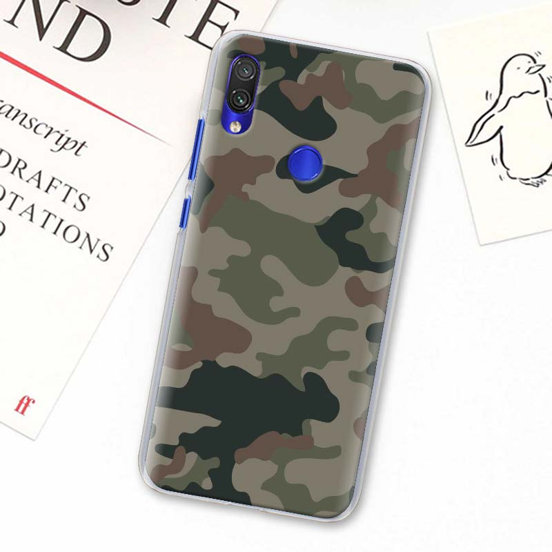 Camouflage Camo Military Army Phone Cases For Xiaomi Redmi Note 8T 9S 5 6 7 8 Pro 9 Pro MAX K20 K30 Pro 6A 7A 8A Cover