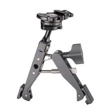 Металлическая поворотная рукоятка Краб коготь зажим Кронштейн для фотостудии вспышки Стенд штатив монопод(включая панорамирование