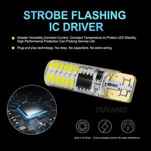 Image 4 - Luces estroboscópicas intermitentes T10 194 W5W 22 Led 3014SMD T10, brillo duradero, Flash estroboscópico automático, dos modos de funcionamiento, bombillas para coche, 2 uds.