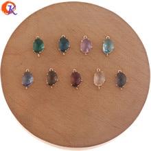 Cordial Design 50 sztuk 8*14MM biżuteria akcesoria/kryształowe kolczyki złącza/owalny kształt/Hand Made/kolczyki ustalenia/DIY Making