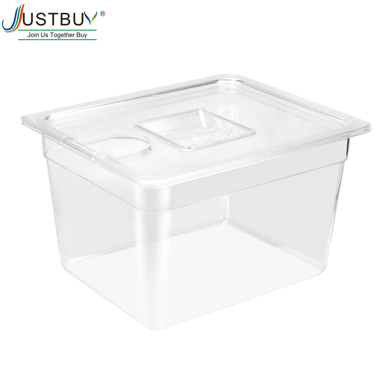 11L Sous Vide Cooker Container and Stainless Steel Sous Vide coock Rack Detachable Dividers Separator for Immersion Circulators