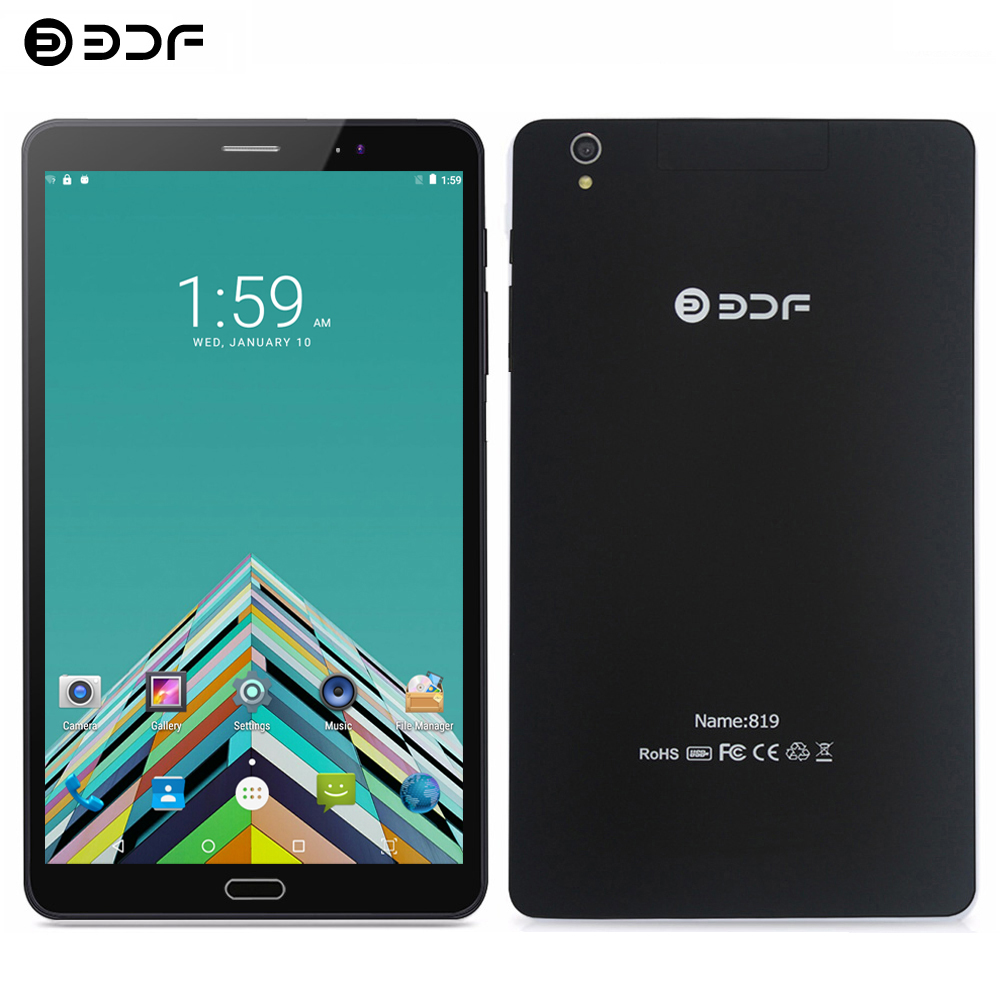 BDF 8 Inch Tablet Pc 2.5D Screen 4G  Phone Call Tablet 1280*800 IPS 1GB/32GB Quad Core 5.0MP Android 6.0 Mobile Phone Tablet 8
