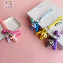 Брелок для ключей с куклой деликатесами подарок студентов милый