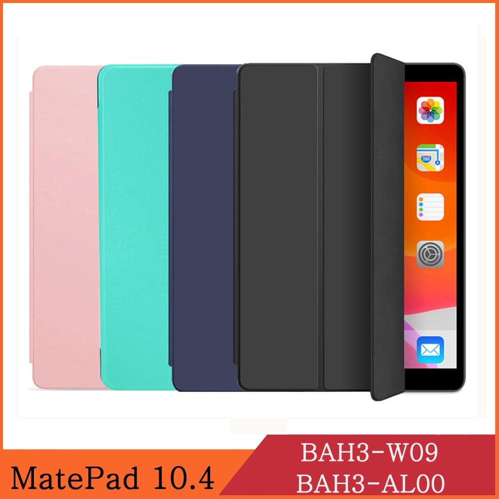 Caso tablet para huawei matepad 10.4 2020 BAH3-W09 BAH3-AL00 lte wi-fi plutônio capa de couro flip dos desenhos animados pintura suporte coque