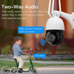 Image 4 - Caméra de Surveillance dôme extérieure IP WiFi 3G/4G HD 1080P, dispositif de sécurité domestique sans fil, avec emplacement pour carte SIM, Zoom optique x30