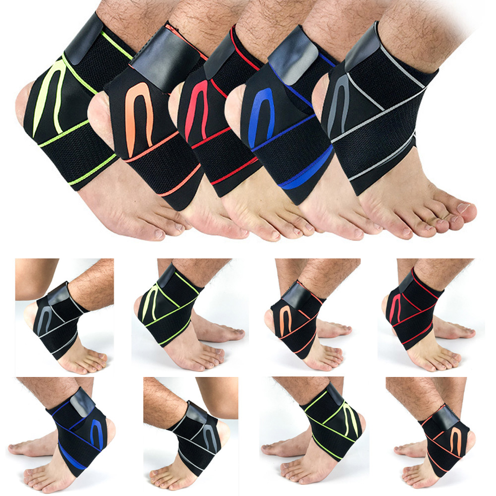 Protection Ankle Support Foot Brace Guard Compression Ankle Bandages Sports Gear