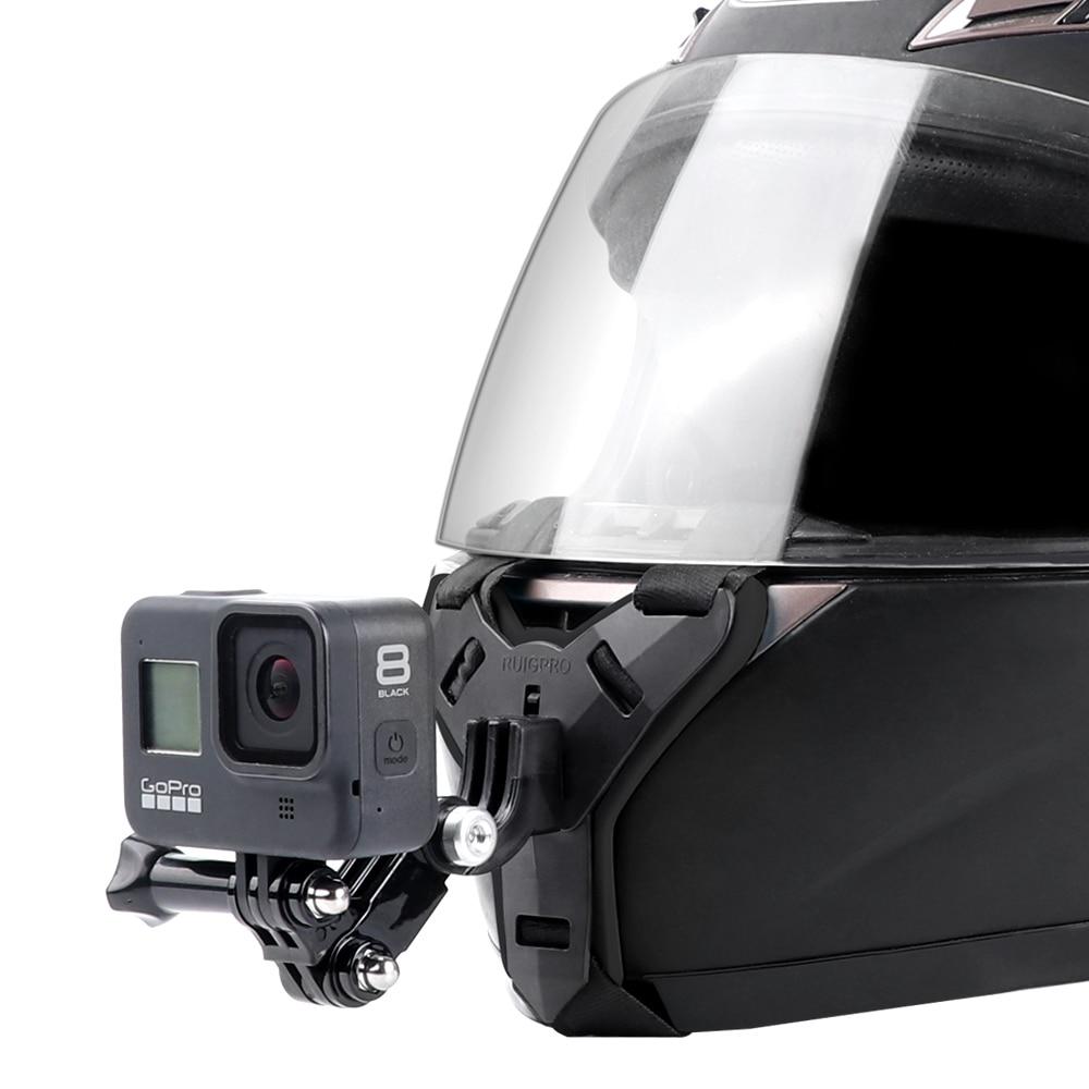 מעמד מצלמת אקסטרים לסנטר קסדת אופנוע  2