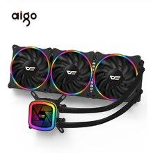 Aigo Darkflash DT120/240/360 Pc Ốp Lưng Nước Làm Mát Quạt Máy Tính CPU Tích Hợp Nước Làm Mát Cho Socket LGA 775/115x/AM2/AM3/AM4