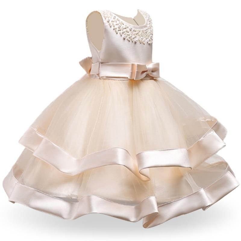 Girls Dress Elegant New Year Princess Children Party Dress Wedding Gown Kids Dresses for Girls Birthday Party Dress Vestido Wear 7